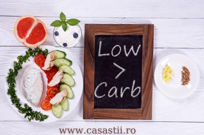 Dieta cu continut de carbohidrati scazut low carb