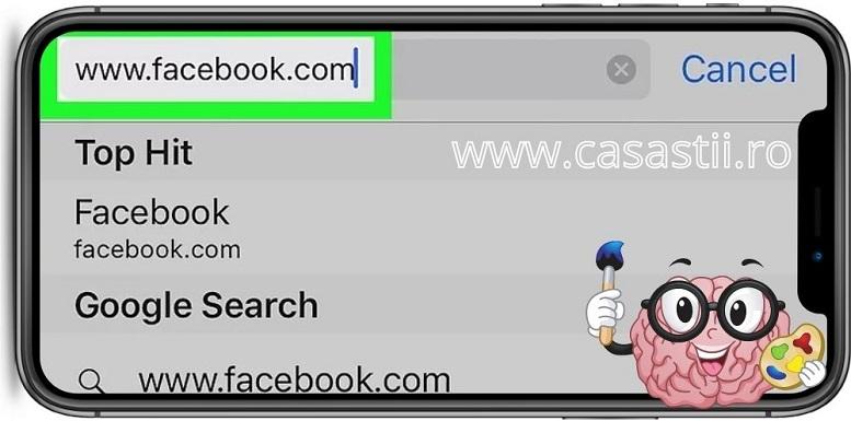 Autentifica-te pe Facebook cu safari