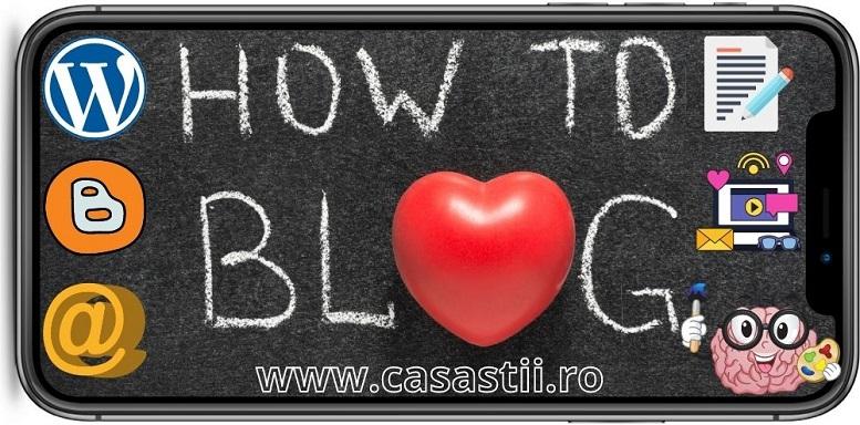 Cum sa faci un blog pentru a face bani online