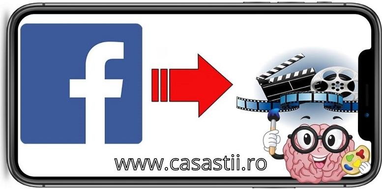 Descarca video de pe facebook