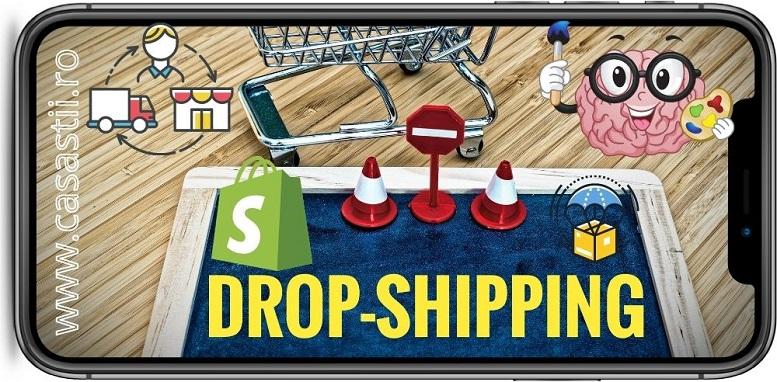 Dropshipping cum sa faci bani online magazin