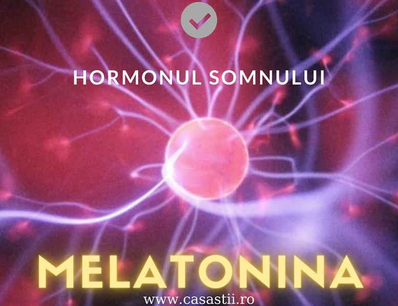 Melatonina Hormonul somnului si al intunericului