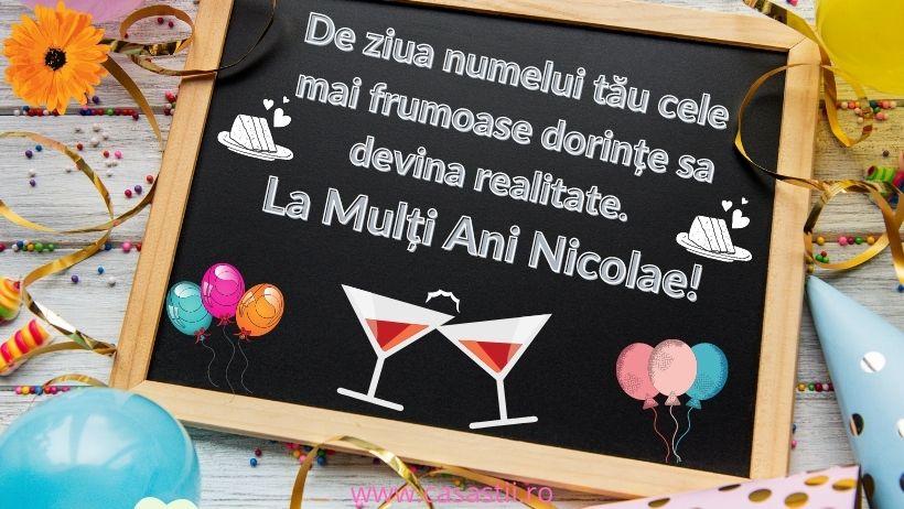 La multi ani Nicolae