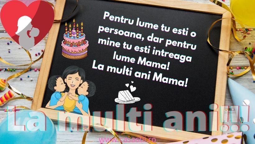 La Multi Ani, Mama mea draga!