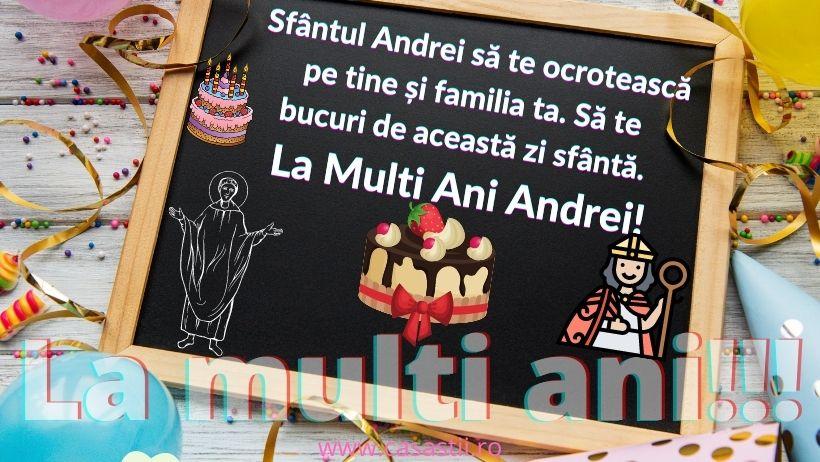 La Multi Ani, Sf Andrei!