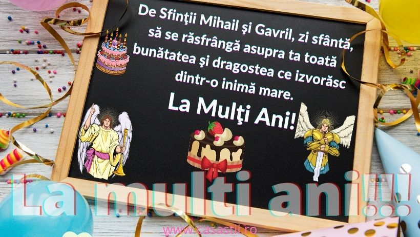 La Multi Ani, Sf Mihail şi Gavril!