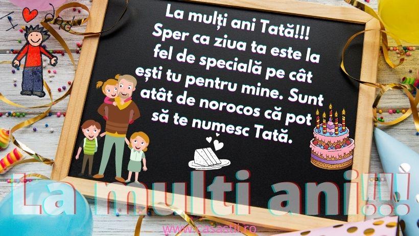 La Multi Ani, Tata special!
