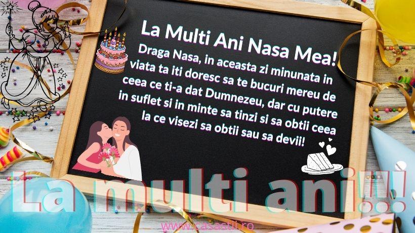 La Multi Ani, nasa!