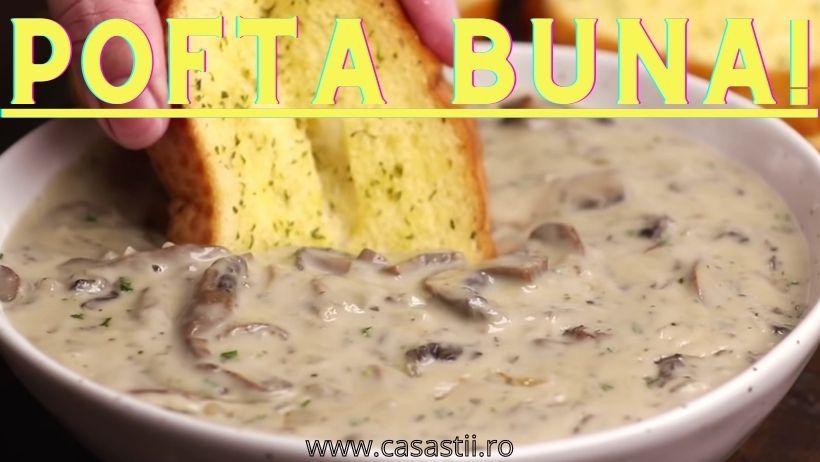 Pofta buna supa crema de ciuperci