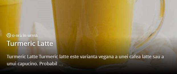 Turmeric Latte Reteta